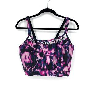 Lane Bryant Livi Active 20 Sports Bra Multicolor